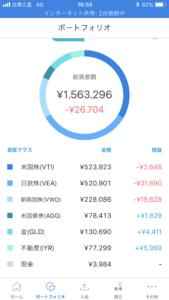 ウェルスナビ-2.6万円の内訳
