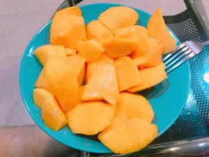 台湾の果物2:マンゴー(芒果)