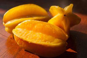 台湾の果物14:スターフルーツ(楊桃)