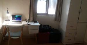 台湾新北市永和区の部屋。11坪。