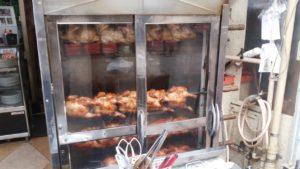 オッソ・ブラジル名物「鶏の丸焼き」