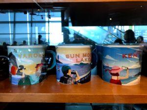 台湾限定グッズ④:台湾各地の観光地をイメージしたマグカップ