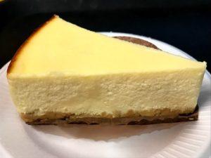 私がオーダーしたチーズケーキ