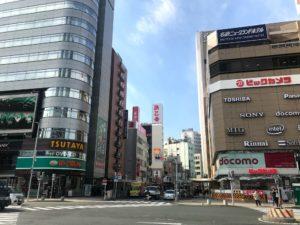 名古屋駅西口(太閤通口)に広がる元ドヤ街