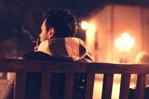 昔はタバコを吸っていた