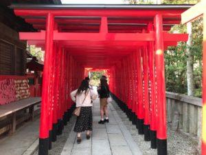 針綱神社の写真スポット①:鳥居