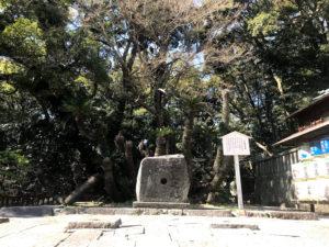 五重の塔の跡