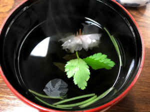 松野屋の吸い物
