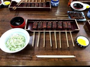 松野屋の定食 1150円