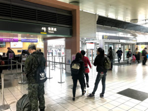 高鉄桃園駅の内部