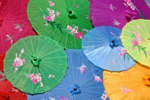 台湾人へのプレゼント・贈り物のタブー⑤:傘や扇子