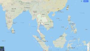 タイの位置