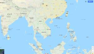 ベトナムの位置