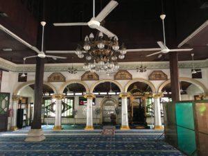 マラッカで入ったモスク