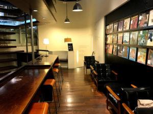 誠品書店のカフェ