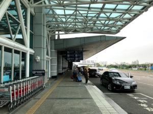 国内線ターミナルの方向