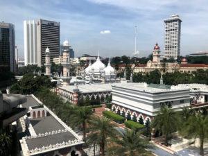クアラルンプールにあるモスク「マスジットジャメ」