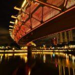台湾高雄の愛河でクルージング体験!船上からの夜景も美しい!