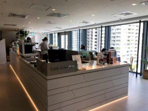 6階のカフェ