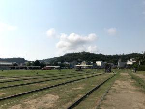 哈瑪星(ハマシン)に残る日本統治時代の線路
