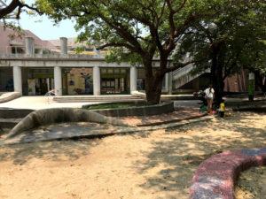 高雄児童美術館の入口