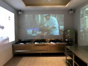 台湾の厨房を再現
