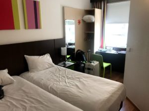 ibis hotelの部屋