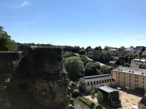ボック要塞からの景色