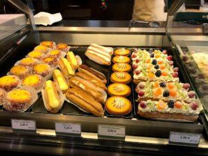 並レベルのカフェのお菓子類