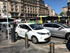 ルクセンブルクのタクシー