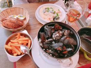 ムール貝とフィッシュスープ
