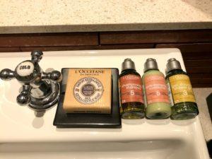 石鹸やシャンプーが全部ロクシタン