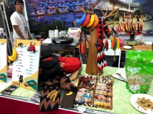 原住民の伝統工芸品