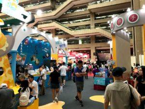 台湾美食展の様子2