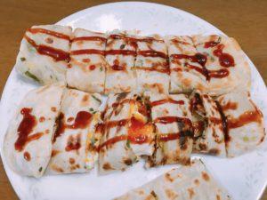台湾風蔥油餅蛋餅