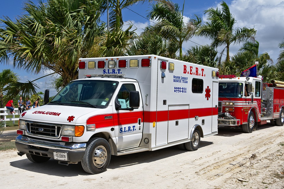 台湾の救急車イメージ