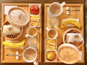 「PAPO'A HOTEL 帕鉑舎旅」の朝食