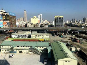 豪華四人房(豪華4人部屋)からの景色