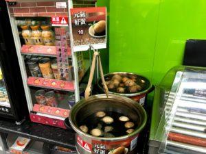 台湾の煮卵「茶葉蛋」はコンビニで買える!