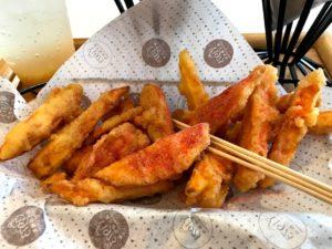 地瓜薯薯(スイートポテトフライ) 60元
