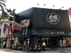 「継光香香鶏」の台中本店