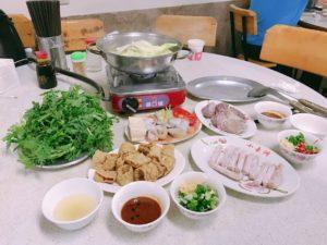火鍋(台湾風の鍋)