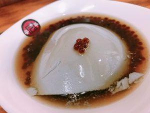 豆花(豆腐のデザート)