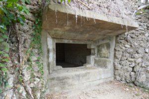 日本軍が建築したトンネル