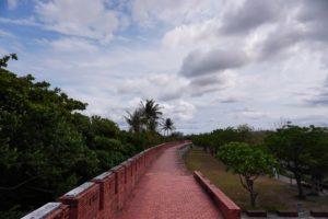 城壁の散策コース