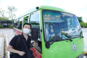 台湾好行33(關子嶺-故宮南院線)に乗車します