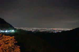 關子嶺からの夜景