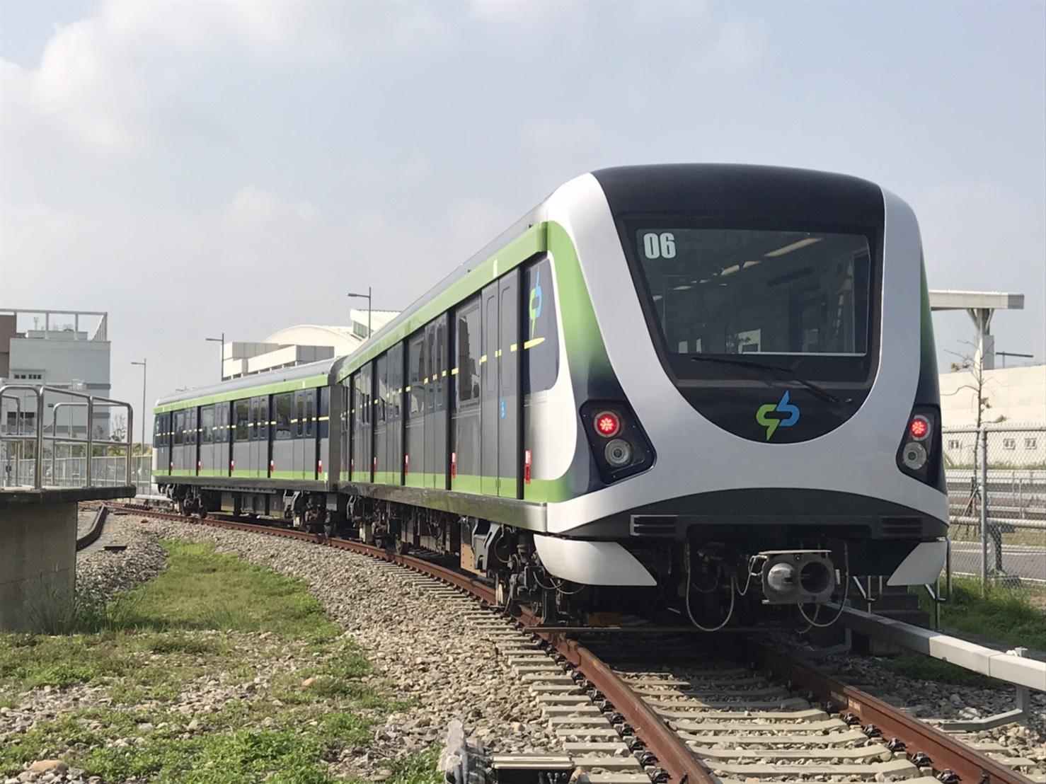 台中MRT(捷運)グリーンライン