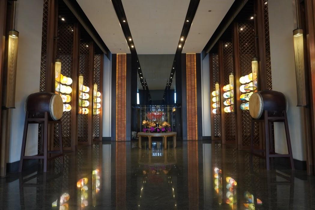 シルクスプレイス台南(台南晶英酒店)のロビー