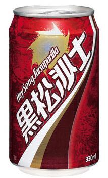 黑松沙士は台湾で最も有名な沙士の一つ